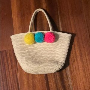 Pom Pom Rafe beach bag